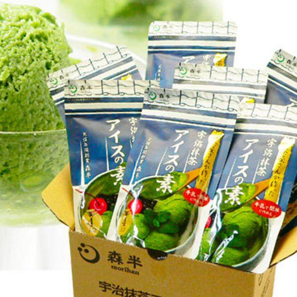 MORIHAN Matcha Green Tea Ice Cream Mix Uji no Ochayasan ga Tsukuritakatta Matcha Ice no Moto
