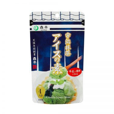 MORIHAN Matcha Green Tea Ice Cream Mix - Uji no Ochayasan ga Tsukuritakatta Matcha Ice no Moto