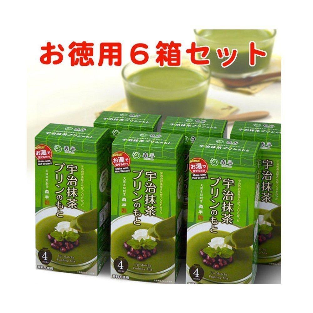 MORIHAN Matcha Green Tea Pudding Mix
