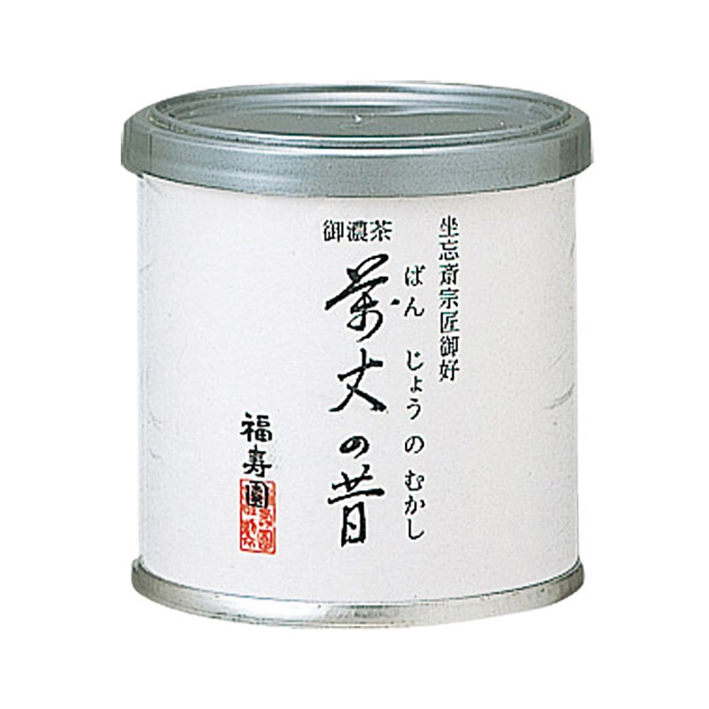 Matcha powder - Banjono Mukashi by Fukujuen Kyoto 20g can