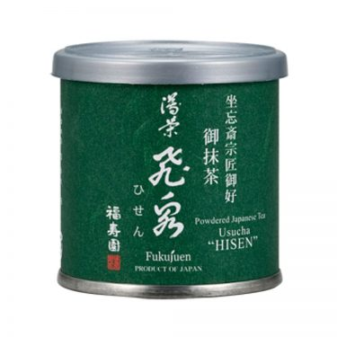 Matcha powder - Hisen by Fukujuen Kyoto 20g can