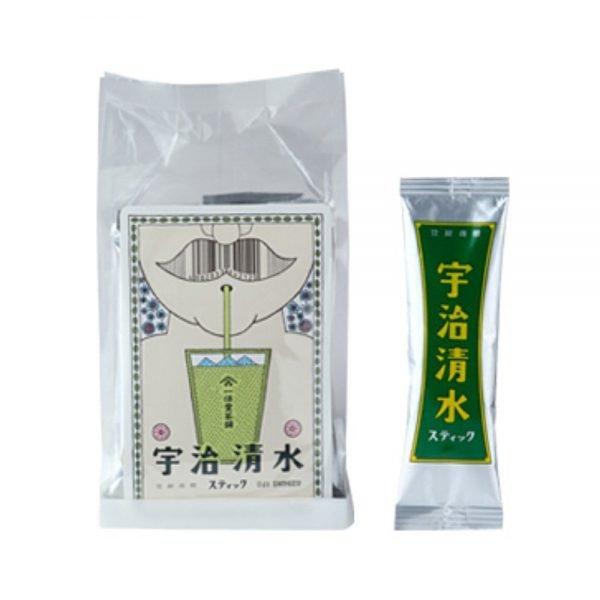 Matcha powder Uji-Shimizu Sticks (sweetened matcha) - 15g x 12 sticks