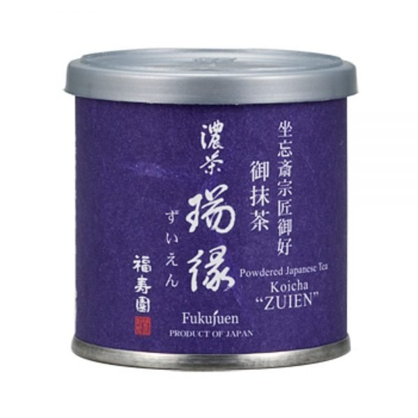 Matcha powder - Zuien by Fukujuen Kyoto 20g can