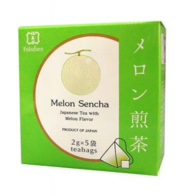 Melon flavoured sencha green tea - Fukujuen Kyoto (2g x 5 bags)