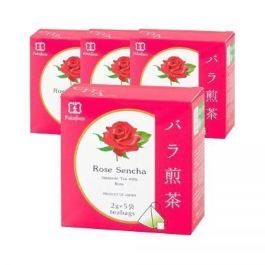 FUKUJUEN Rose Flavoured Sencha Green Tea