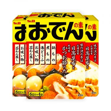 S&B Oden Soup Mix Made in Japan