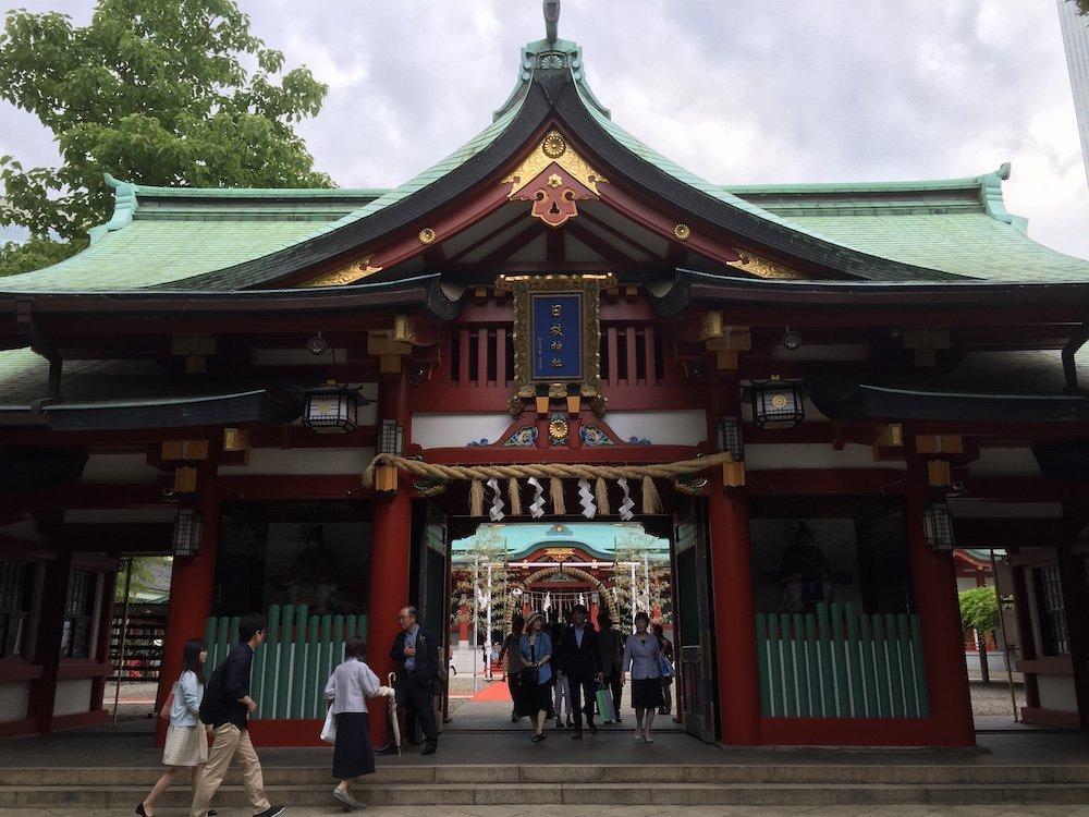 The Hie Shrine, Akasaka, Tokyo