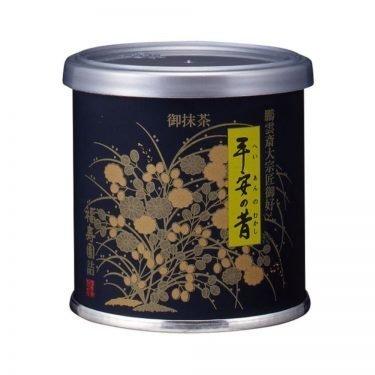 Uji matcha powder - Heianno Mukashi by Fukujuen Kyoto 20g can