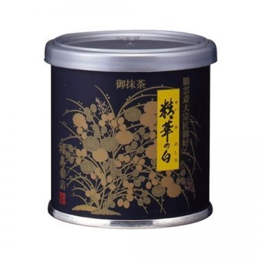 Uji matcha powder - Seikano Shiro by Fukujuen Kyoto 20g can