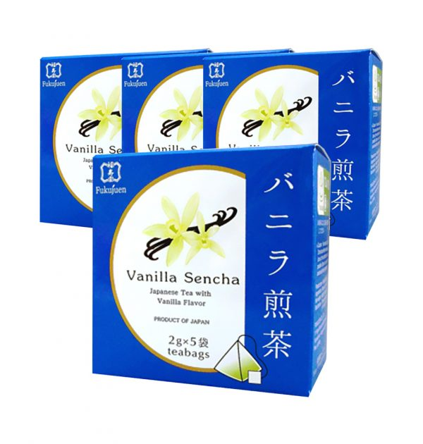 FUKUJUEN Vanilla Flavoured Sencha Green Tea