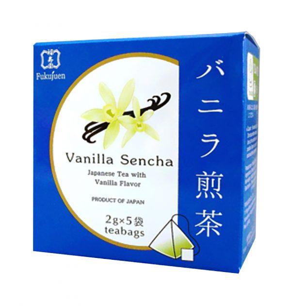 Vanilla flavoured sencha green tea - Fukujuen Kyoto (2g x 5 bags)
