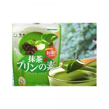 Industrial size matcha pudding mix by Morihan 500g - 25 servings