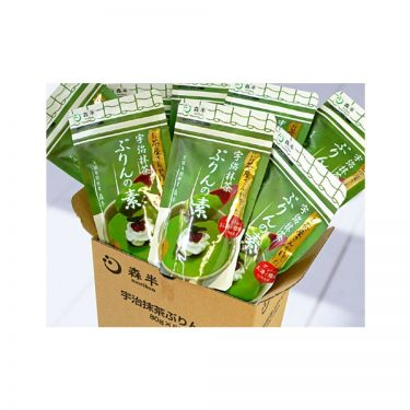 Bulk purchase - Uji Matcha Pudding Mix - 80g x 8pcs