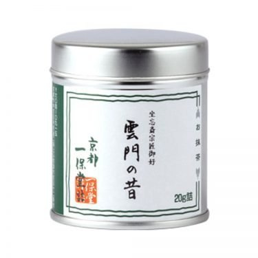 Matcha powder Unmon-no-Mukashi by Ippondo (Kyoto) - 20g can