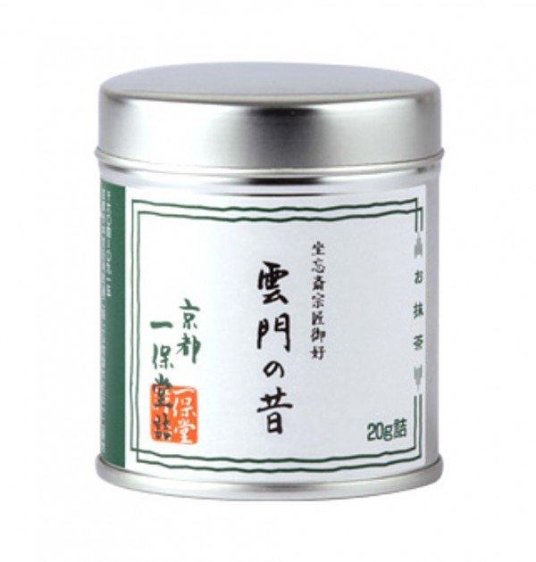 Matcha powder Unmon-no-Mukashi by Ippondo (Kyoto) - 20g can