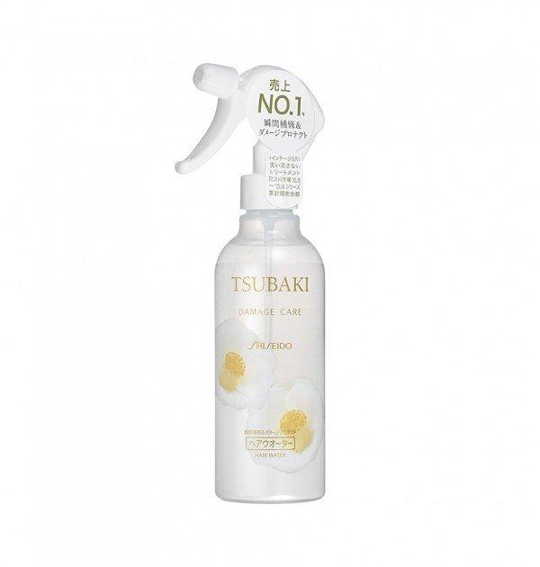 SHISEIDO Tsubaki Damage Care Water Leave-In Hair Moisturizer Spray 250ml Japan Edition