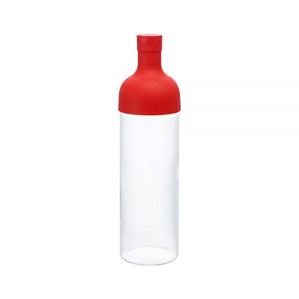 HARIO Cold Green Tea Filter-in Bottle Red