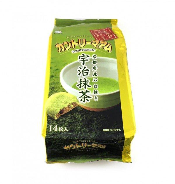 Fujiya Japanese Matcha Cookies Country Ma'am