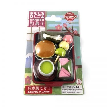 Authentic IWAKO Fun Eraser Japanese Sweets - Made in Japan