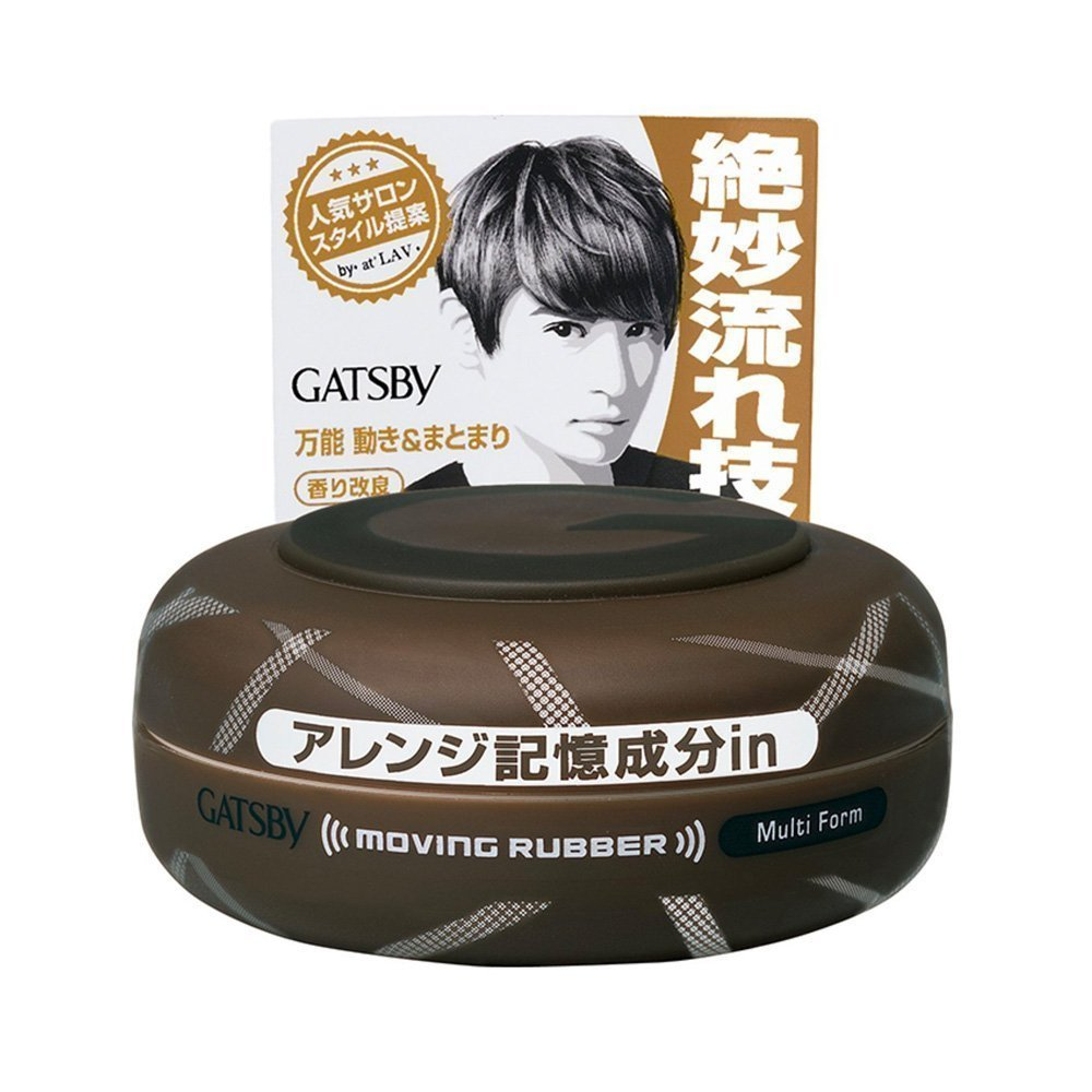 GATSBY Moving Rubber Multi Form 80g
