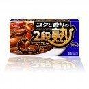 GLICO Nidanjuku Curry Mix Hot 144g 8 Serv