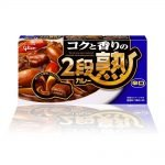 GLICO Nidanjuku Curry Mix Hot 144g 8 Serv