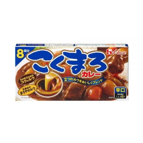 House Kokumaro Curry Mix Hot 140g