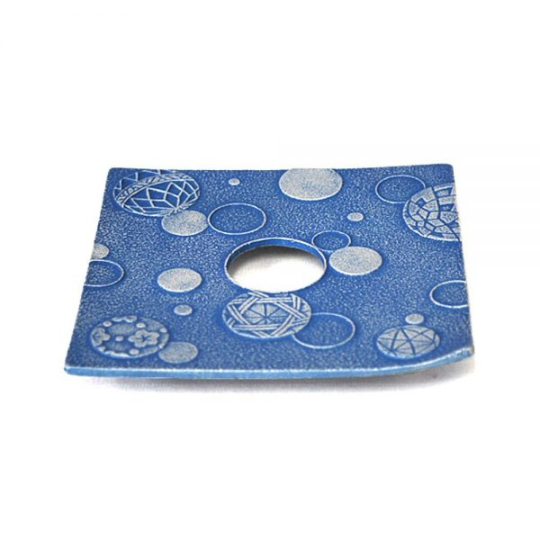 IWACHU Nanbu Cast Iron Coaster - New Series Mari Blue
