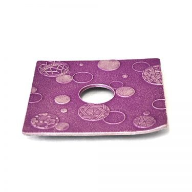 IWACHU Nanbu Cast Iron Coaster - New Series Mari Purple