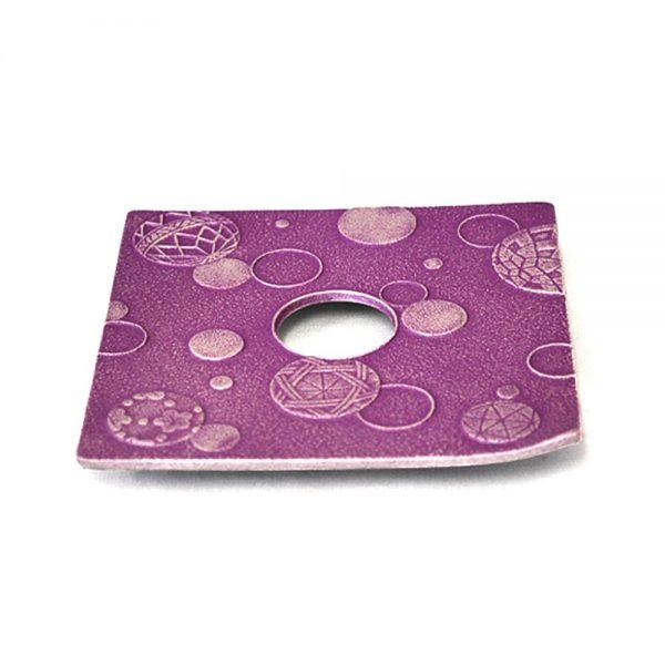 IWACHU Nanbu Cast Iron Coaster - New Series Mari Purple