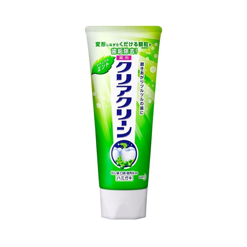 KAO Clear Clean Toothpaste Natural Mint Made in Japan