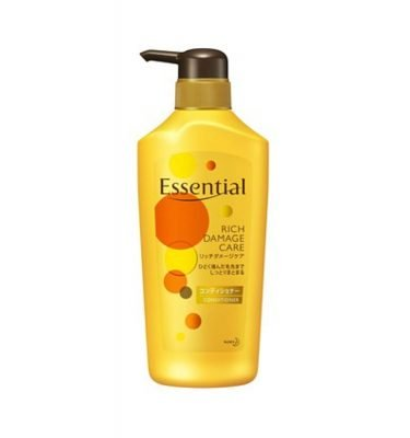 KAO Essential Rich Damage Care Conditioner Jumbo Size 480ml - Genuinely Made in Japan