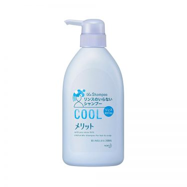KAO Merit Rinse-in Shampoo Cool Type Top 5 Selling Shampoo in japan