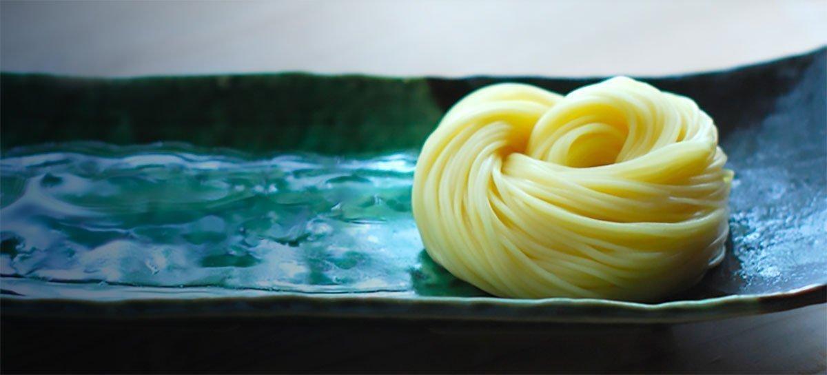 MORIKAWA Egg Somen Thin Noodles Made in Japan