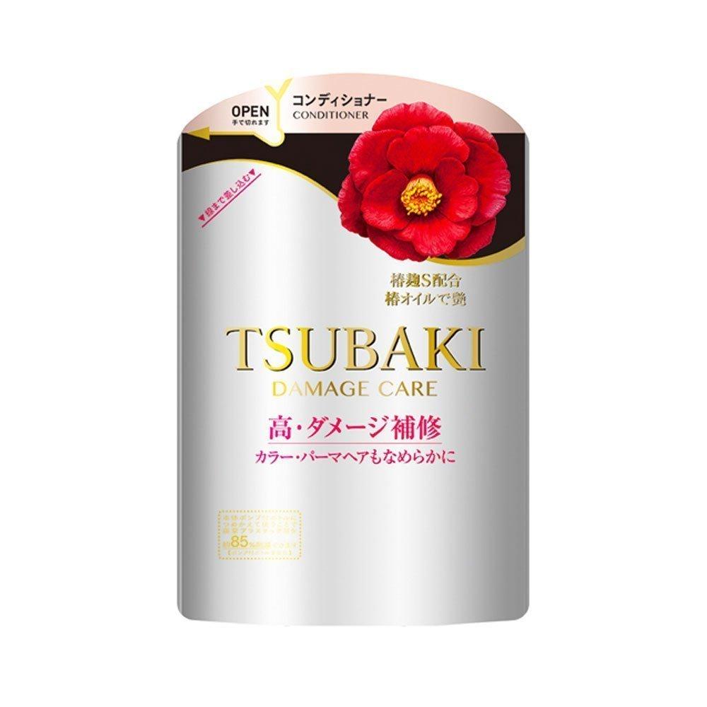 New Shiseido Tsubaki Damage Care Conditioner Refill 345ml