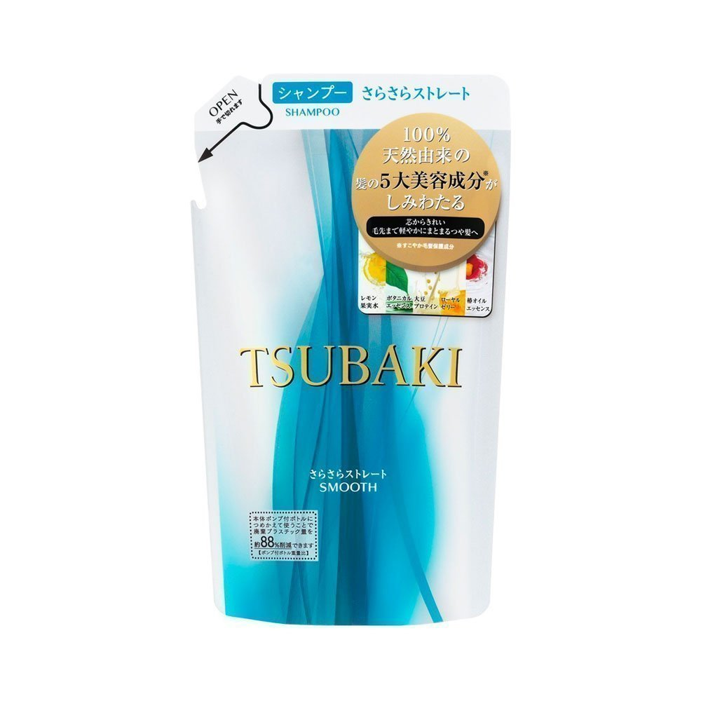 New Shiseido Tsubaki Damage Care Smooth Shampoo Refill