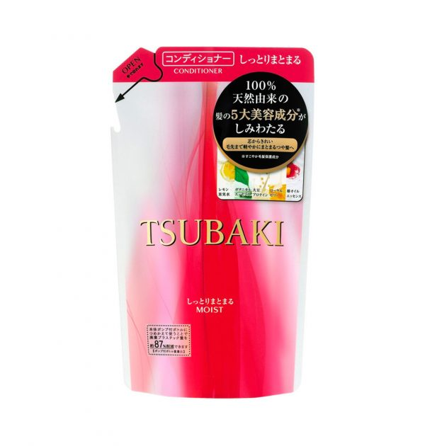 NEW SHISEIDO Tsubaki Extra Moist Conditioner REFILL 330ml Made in Japan