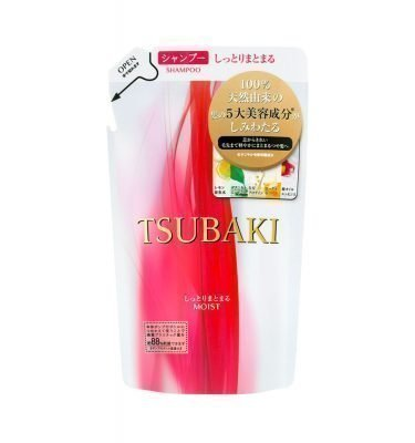 NEW SHISEIDO Tsubaki Extra Moist Shampoo REFILL 330ml Made in Japan