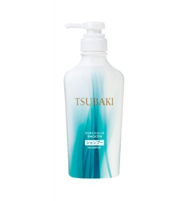 NEW SHISEIDO Tsubaki Smooth Damage Care Shampoo Jumbo Size 450ml Made in Japan