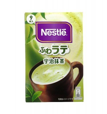 Nestle Frothy Uji Matcha Green Tea Instant 9 sticks