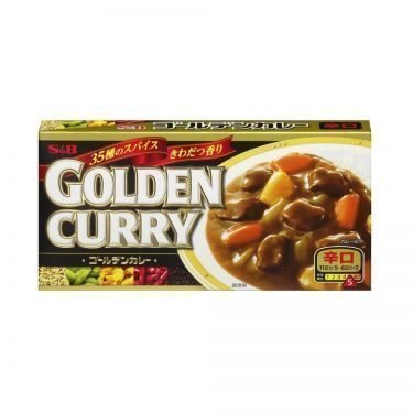 S & B Japanese Golden Curry Hot 198g 11 servings