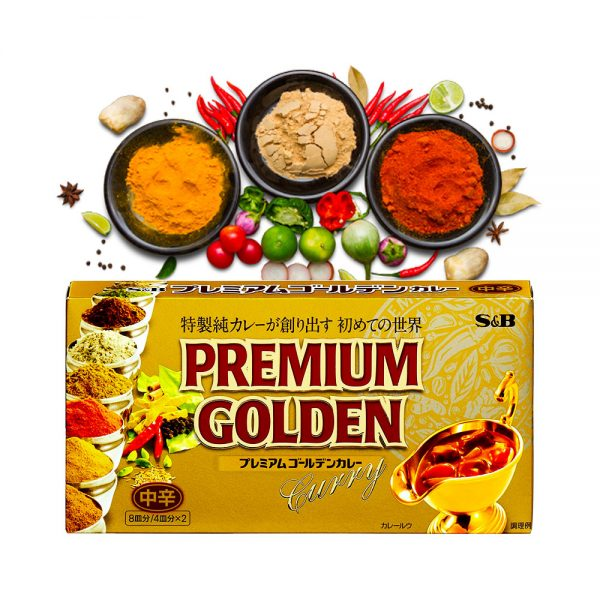S&B Japanese Premium Golden Curry Made in Japan