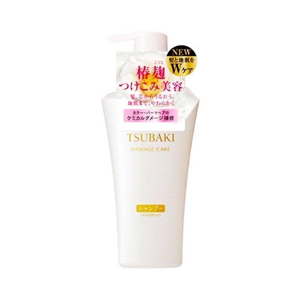 Shiseido Tsubaki Damage Care Shampoo 500ml Japan Edition