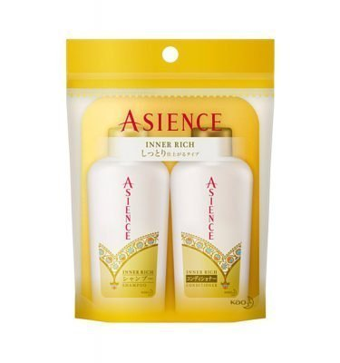 KAO Asience Inner Rich Shampoo & Conditioner Mini Set - 45ml