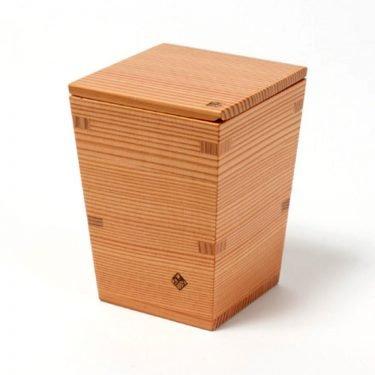 Nikko Cedar Sake Masu & Tokkuri Set - 2011 Tochigi Award Winner