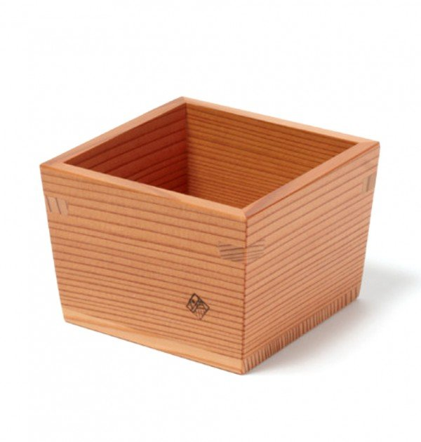 Nikko Cedar Sake Masu & Tokkuri Set - 2011 Tochigi Award Winner cup