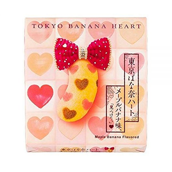 Tokyo Banana Pudding Cake Maple Heart Flavored