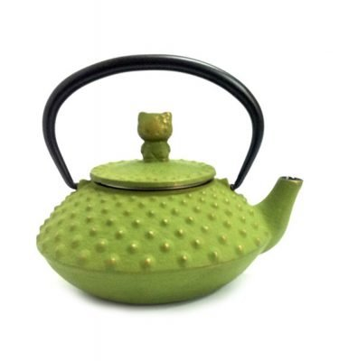 IWACHU Nanbu-Tekki Hello Kitty Teapot - New Edition Wine Green