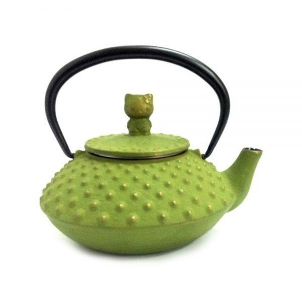 IWACHU Nanbu-Tekki Hello Kitty Teapot - New Edition Wine Green
