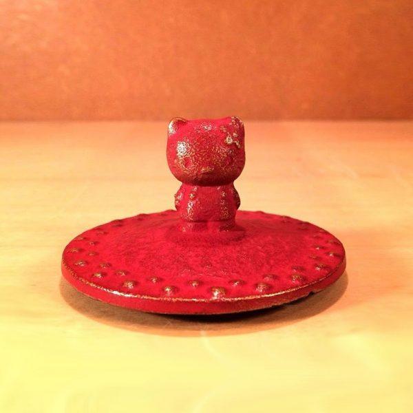 IWACHU Nanbu-Tekki Hello Kitty Teapot - New Edition Wine Red5